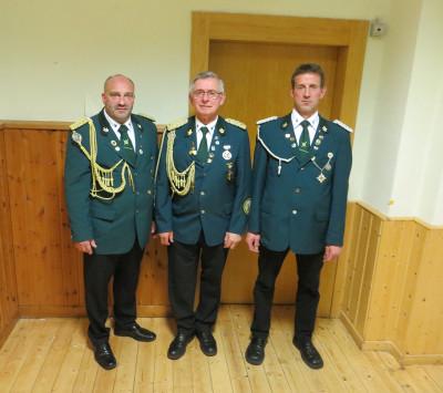Alte und neu Vorsitzenden